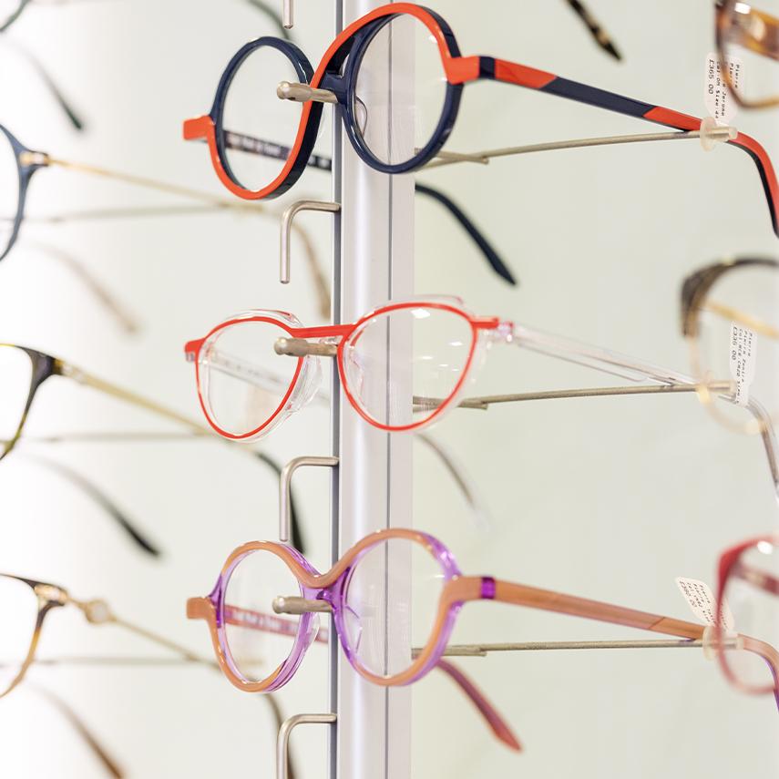 Designer glasses Norwich