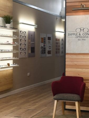 Inside Dipple and Conway Diss Branch