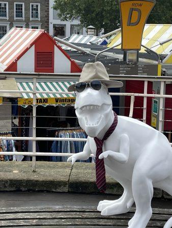 T-rex Sculpture in Disguise