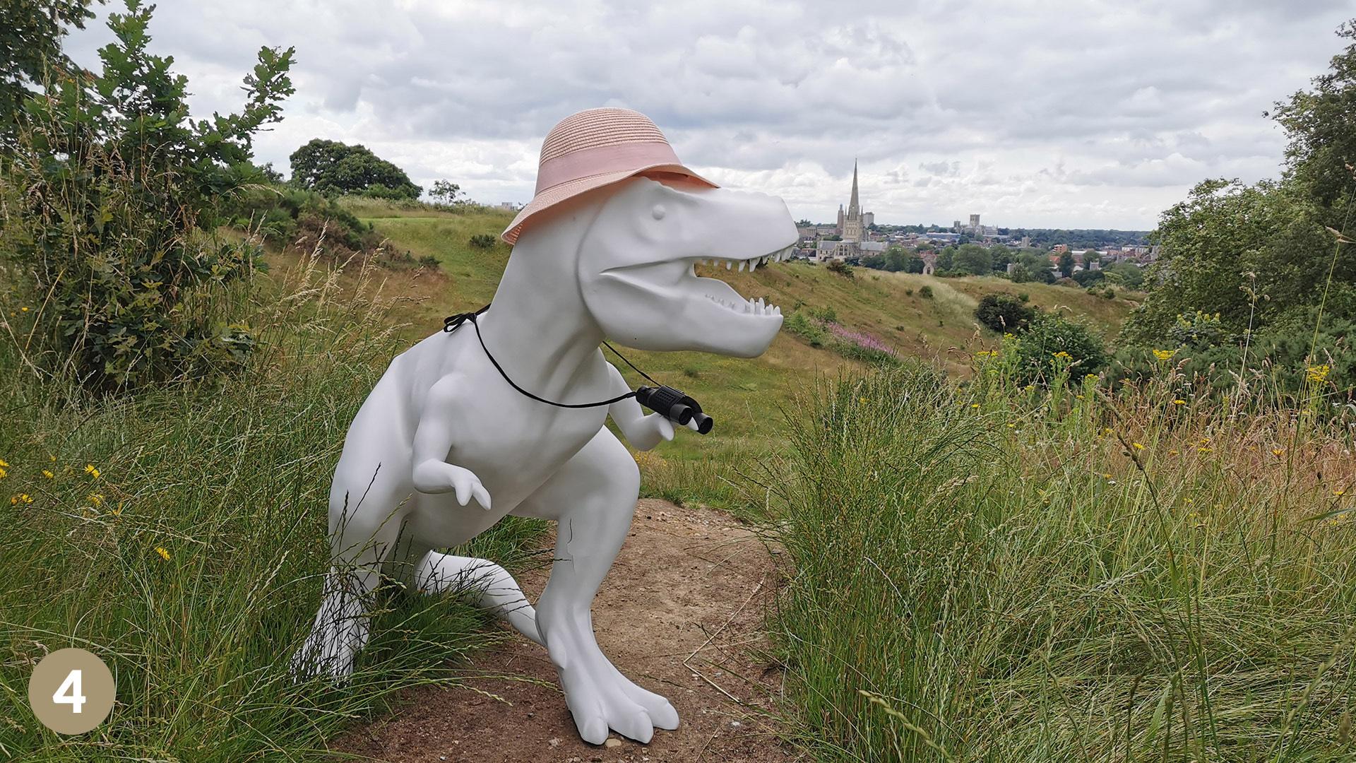 Dinosaur in Norwich