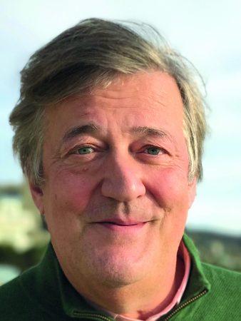 Portrait of Stephen Fry